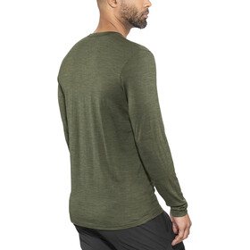 Bergans Henley Wool Shirt Herren seaweed melange